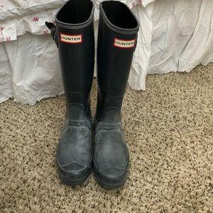 Wide Calf Hunter Rain Boots